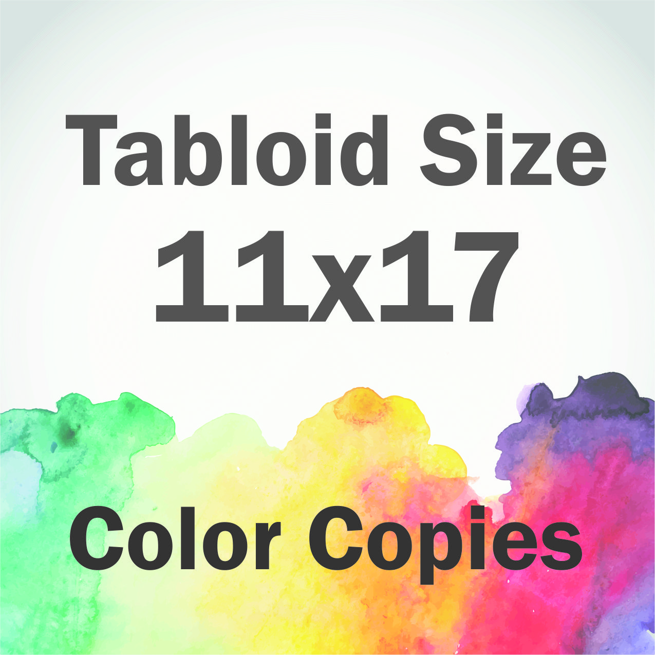 color copies tabloid size